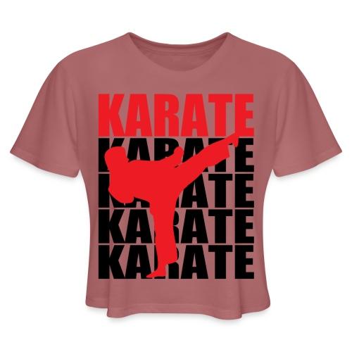 Karate - Women's Cropped T-Shirt