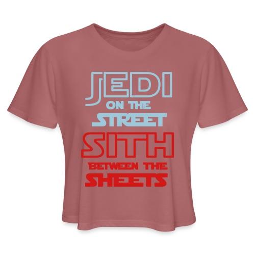 Jedi Sith Awesome Shirt - Women's Cropped T-Shirt