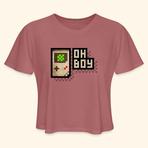 Oh Boy - Women's Cropped T-Shirt