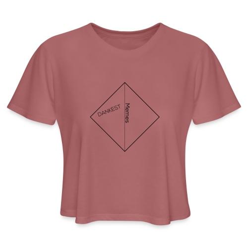Dankest Memes Original - Women's Cropped T-Shirt
