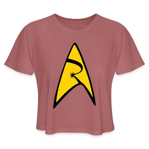 Emblem - Women's Cropped T-Shirt