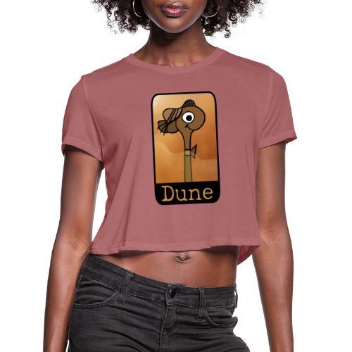 Walk Without Rhythm - Women's Cropped T-Shirt