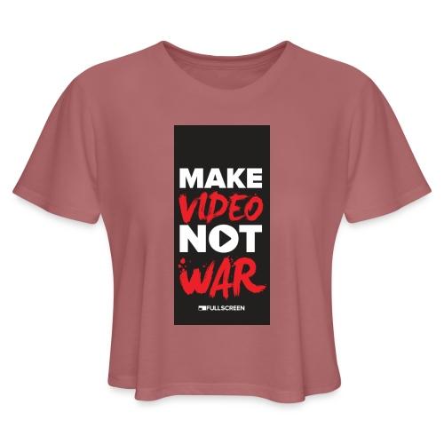 wariphone5 - Women's Cropped T-Shirt