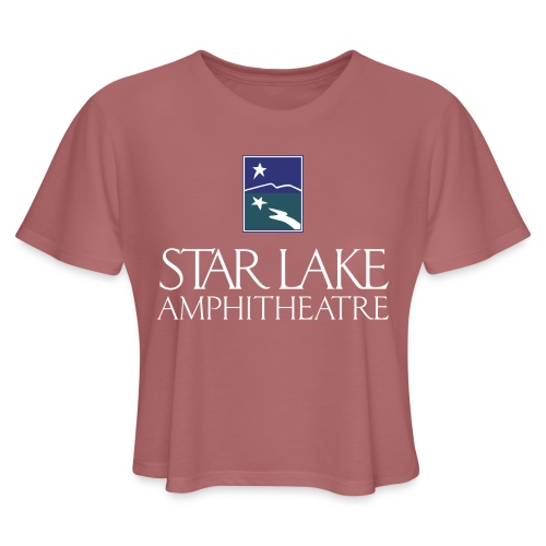 Star Lake on Color - Women's Cropped T-Shirt
