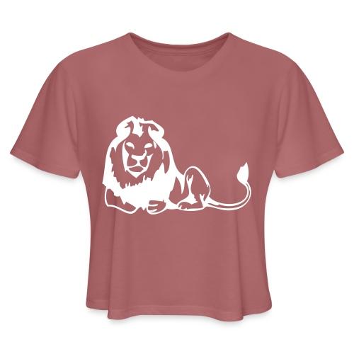 lions - Women's Cropped T-Shirt