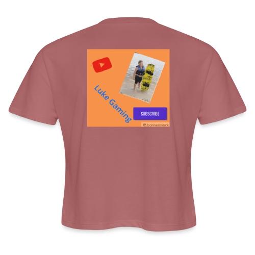 Luke Gaming T-Shirt - Women's Cropped T-Shirt