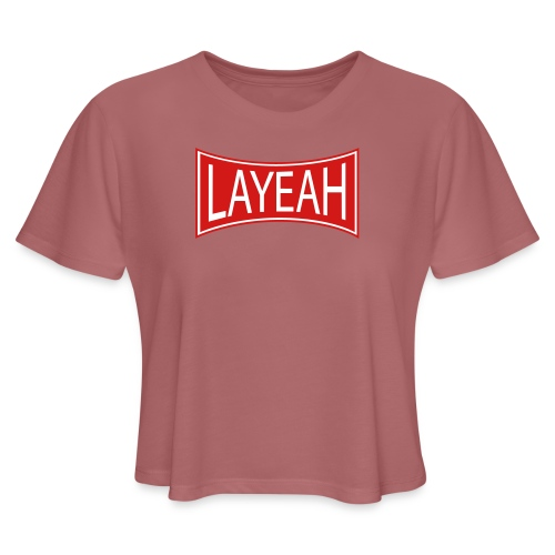 Standard Layeah Shirts - Women's Cropped T-Shirt