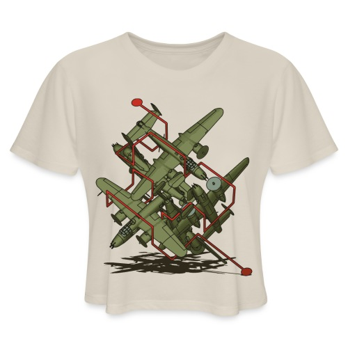 Oh Yossarian... - Women's Cropped T-Shirt