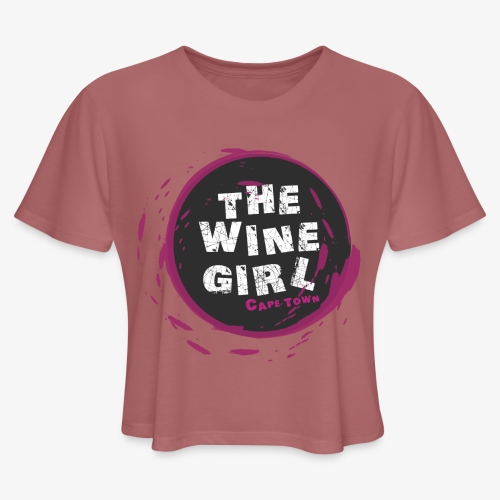 The Wine Girl - Women's Cropped T-Shirt