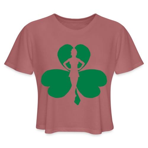 ceili dancer - Women's Cropped T-Shirt