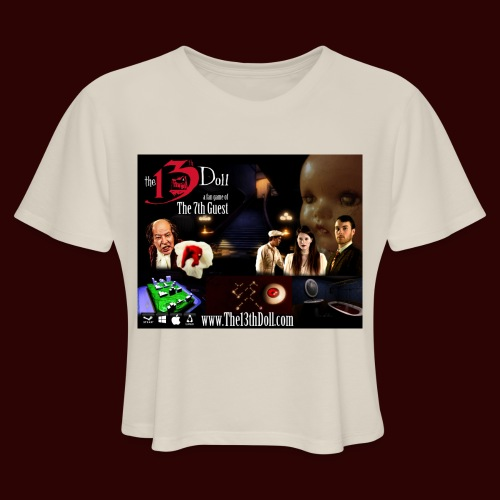 The 13th Doll Cast and Puzzles - Women's Cropped T-Shirt