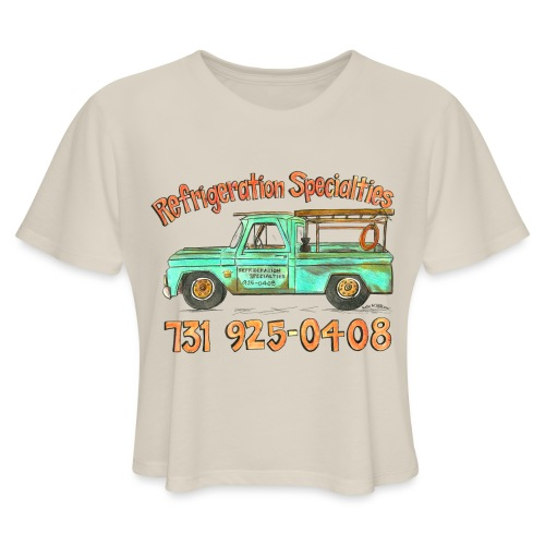 Refrigeration Specialties - Women's Cropped T-Shirt