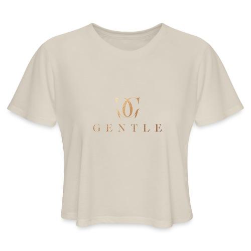 GENTLE - Women's Cropped T-Shirt