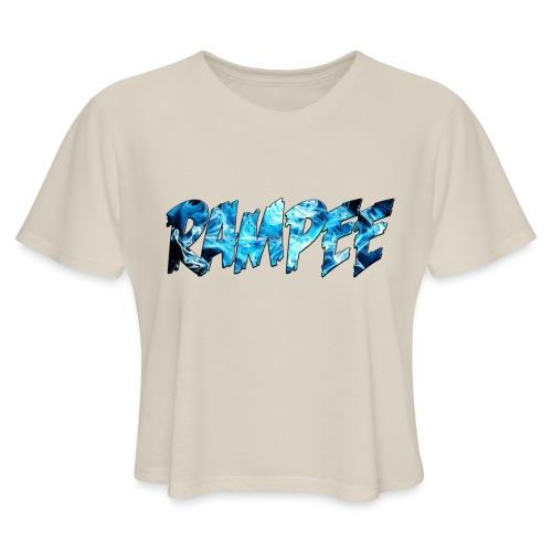 Blue Ice - Women's Cropped T-Shirt