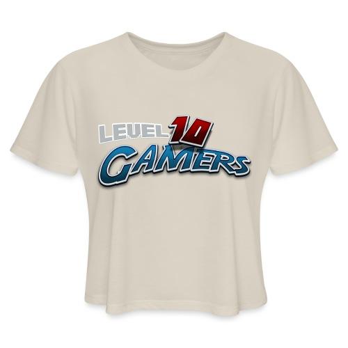 Level10Gamers Logo - Women's Cropped T-Shirt