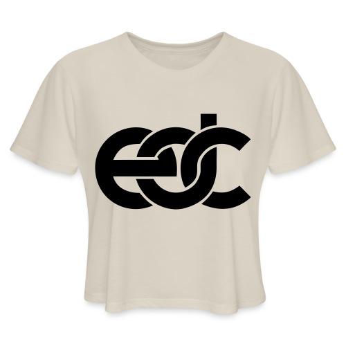 EDC Electric Daisy Carnival Fan Festival Design - Women's Cropped T-Shirt