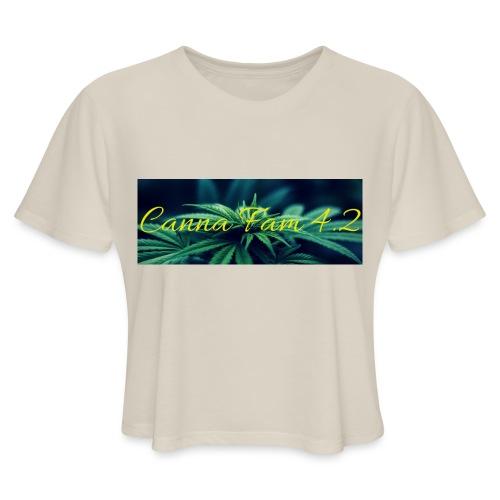 20190705 141303 0000 - Women's Cropped T-Shirt