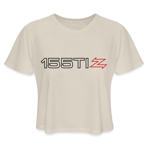 155 TI Zagato - Women's Cropped T-Shirt