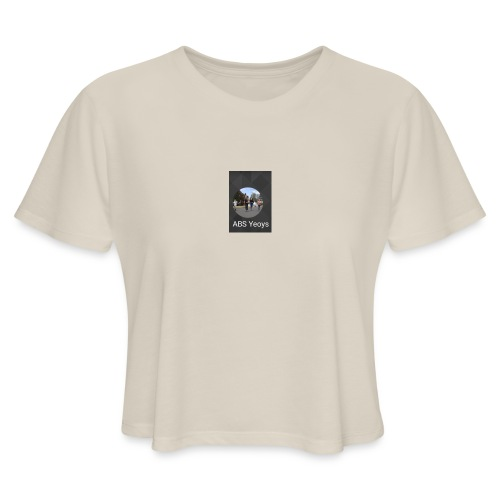 ABSYeoys merchandise - Women's Cropped T-Shirt