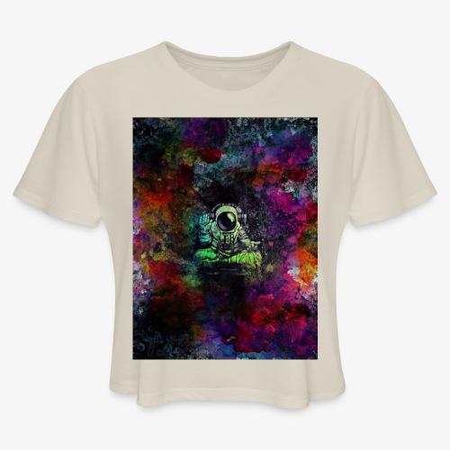Astronaut - Women's Cropped T-Shirt