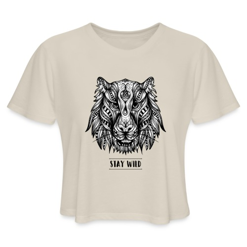 Stay Wild - Women's Cropped T-Shirt