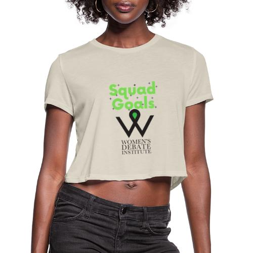 Squad Goals - Women's Cropped T-Shirt