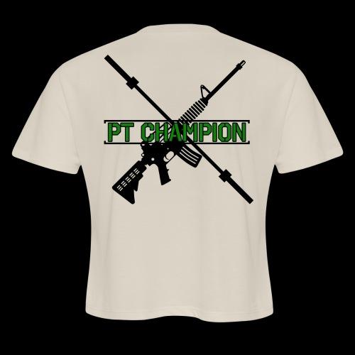 PT CHAMP - Women's Cropped T-Shirt