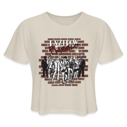 East Row Rabble - Women's Cropped T-Shirt
