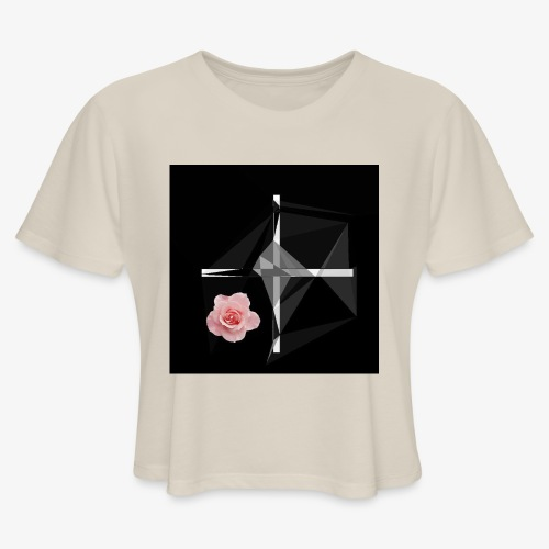 Roses and their thorns - Women's Cropped T-Shirt