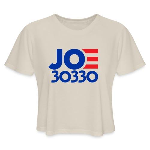 Joe 30330 Biden Presidential Campaign Gaffe Gear - Women's Cropped T-Shirt