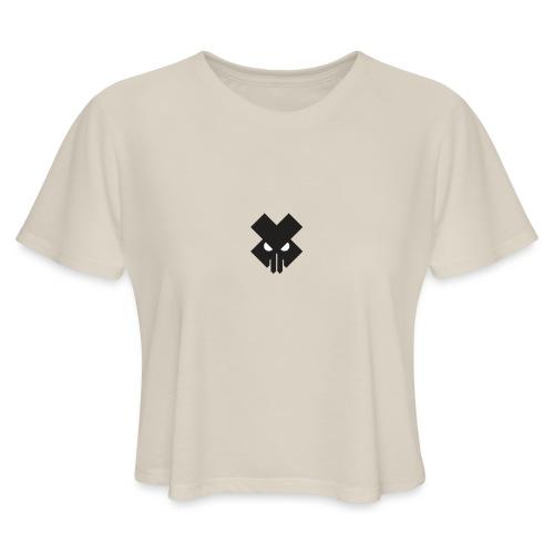 T.V.T.LIFE LOGO - Women's Cropped T-Shirt