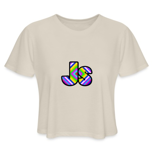 JsClanLogo2 - Women's Cropped T-Shirt