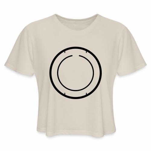 beta2back - Women's Cropped T-Shirt