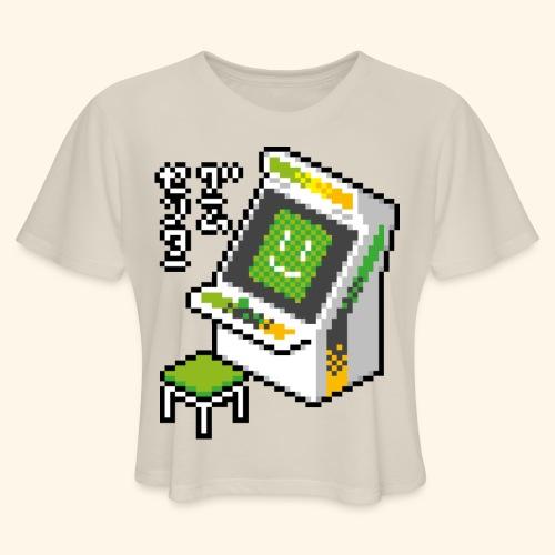 Pixelcandy_AW - Women's Cropped T-Shirt