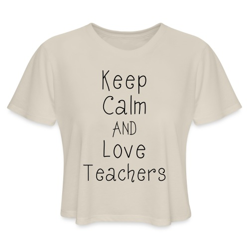 keepcalm - Women's Cropped T-Shirt