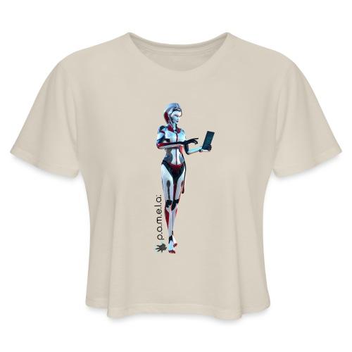 P.A.M.E.L.A. SecRT - Women's Cropped T-Shirt