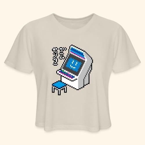Pixelcandy_BC - Women's Cropped T-Shirt