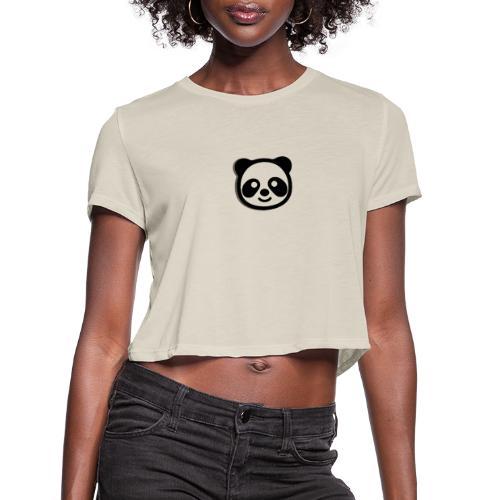 Panda Palace - Women's Cropped T-Shirt