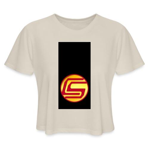 siphone5 - Women's Cropped T-Shirt