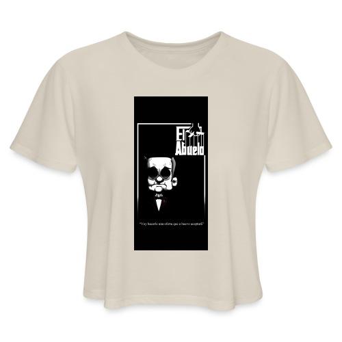 case5iphone5 - Women's Cropped T-Shirt