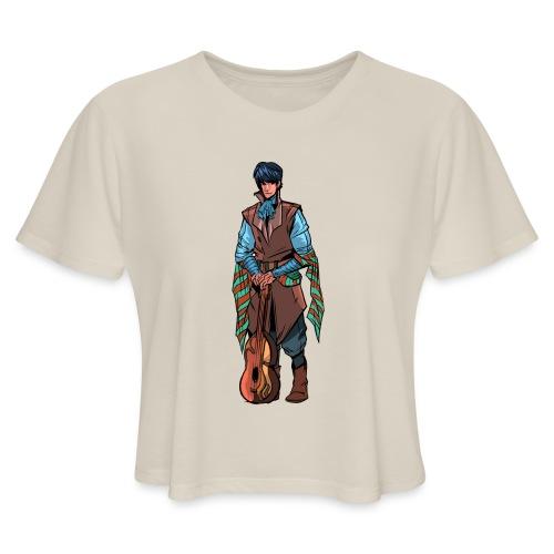 Billsby1 png - Women's Cropped T-Shirt