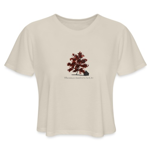 ThomasAndrewArt - Women's Cropped T-Shirt