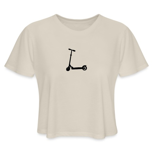 booter - Women's Cropped T-Shirt