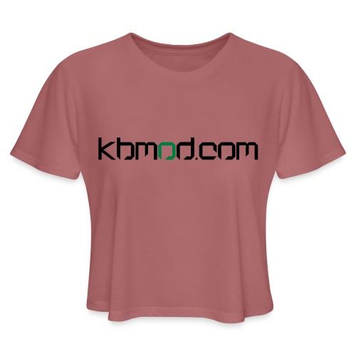 kbmoddotcom - Women's Cropped T-Shirt