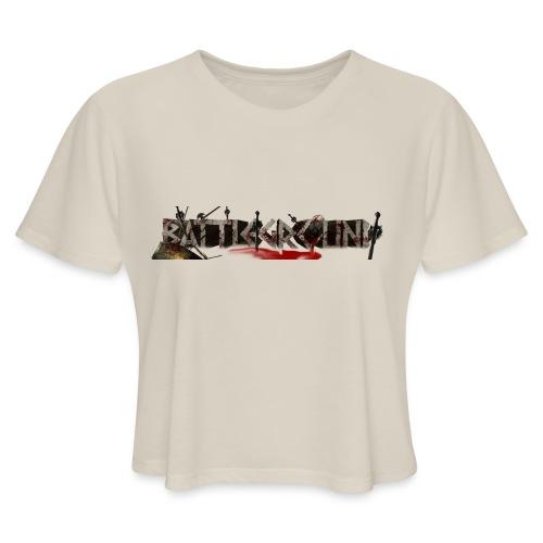 EoW Battleground - Women's Cropped T-Shirt