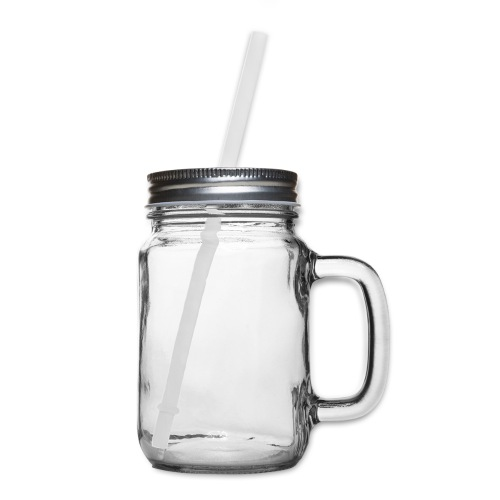 born and raised in Compton - Mason Jar