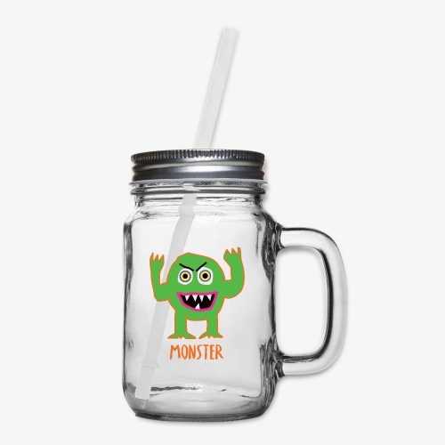 Monster - Mason Jar