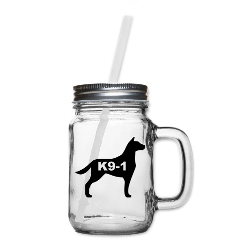 k9-1 Logo Large - Mason Jar