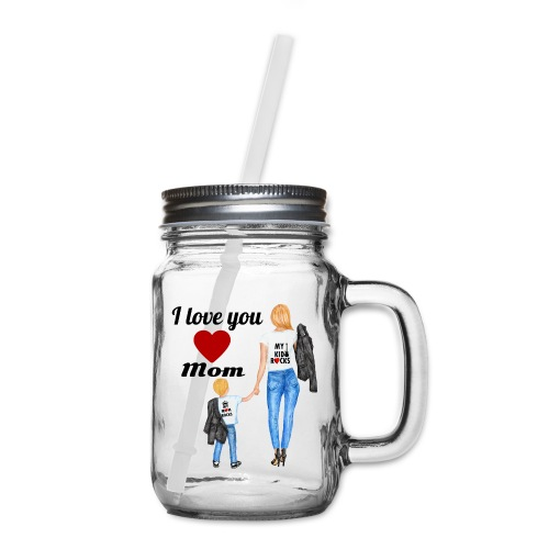 Mother's day gift from daughter, Mother's Day Gift - Mason Jar