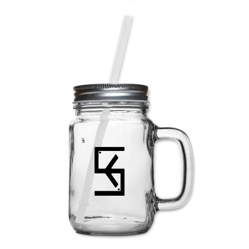 Soft Kore Logo Black - Mason Jar